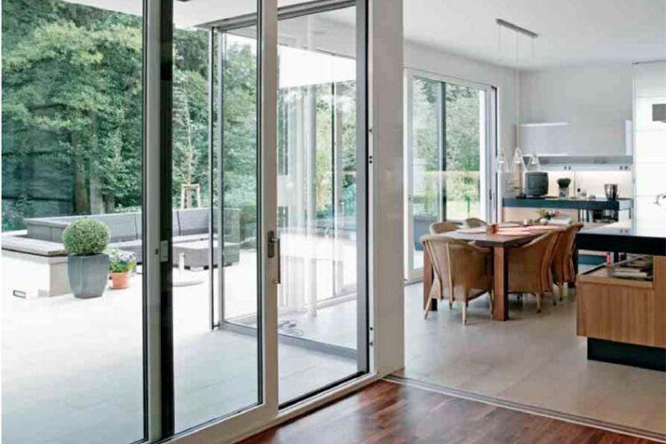 Слайдинговые раздвижные окна и двери